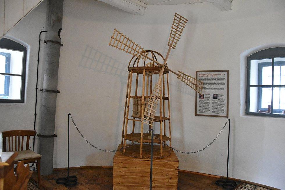 Větrný mlýn na Kanciborku se poprvé otevře veřejnosti v pátek 25. června Uvnitř jsou k vidění tři expozice věnované historii a využití mlýna