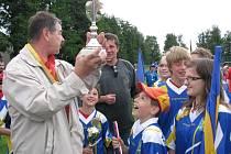 Vítězem Mikroregionálních her se o víkendu stala Želetava. Starosta Oldřich Čech si se svým družstvem z Jakubova odvážel pohár vítězů.