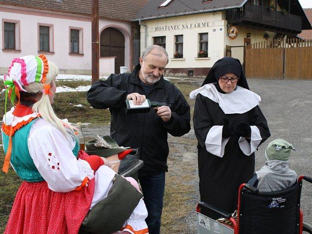 Masopust v Příložanech.