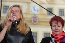 Svatomartinské slavnosti na Karlově náměstí v Třebíči.