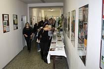Výstava nazvaná Patnáct + jedna knižních publikací v Jaroměřicích nad Rokytnou.