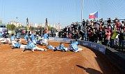 Mladé baseballisty hnalo za ziskem republikového zlata domácí publikum na třebíčské Hvězdě.