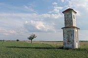 Kaplička, kterou bude nutné podle návrhu trasy obchvatu přemístit.