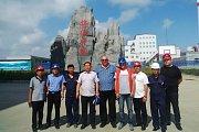 Richard Horký v čínské provincii Heilongjiang.