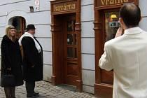 Kavárna Vrátka.
