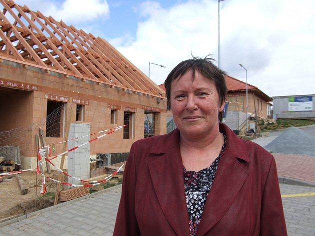 Nové domy pro klienty jinošovského ústavu.
