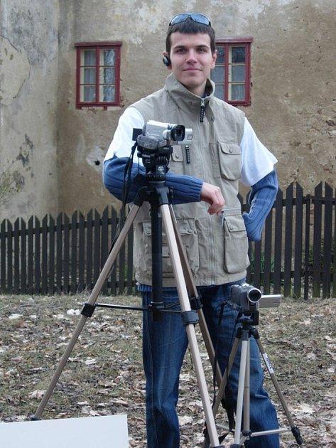 VESELÝ FILM. Mladý úspěšný filmař Jan Veselý.