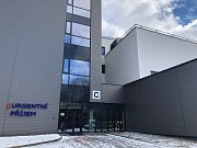 Budova nového urgentního příjmu v třebíčské nemocnici.