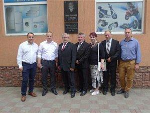 V červnu oplatili zástupci z Vysočiny návštěvu ukrajinského Rachivu.