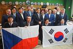 Zástupci korejské KHNP s představiteli třebíčské radnice.