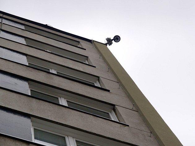 Nová mobilní kamera je v Družstevní ulici v městské části Horka Domky.