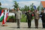 Na zámku Valeč u Náměště nad Oslavou se konalo dvoudenní pracovní zasedání náčelníků generálních štábů ozbrojených sil členských zemí V4 a Ukrajiny.