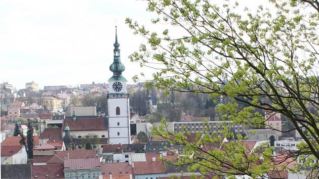 Městská věže u kostela sv. Martina v Třebíči