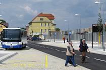 Nový přestupní terminál v Třebíči.