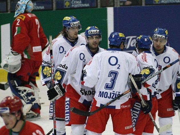 Hokejový reprezentační zápas