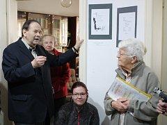 Výstava o životě a díle Anny Pammrové.