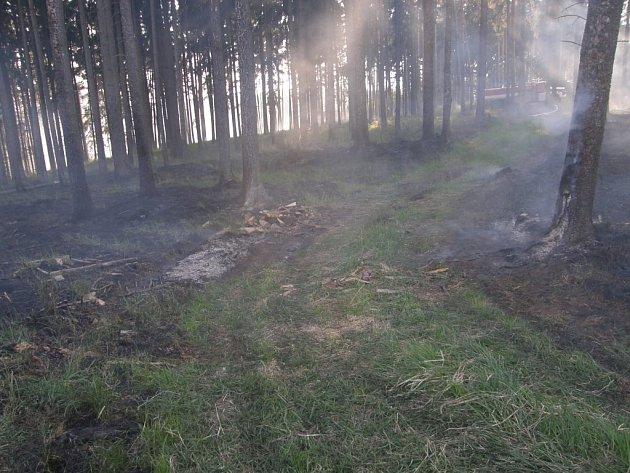 Požár u Březníka