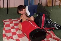 Děti soutěžily v podávání první pomoci