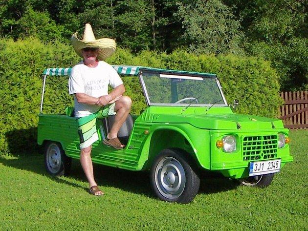 Citroën Méhari a velký fanda zmíněné značky Jirka Bárta.