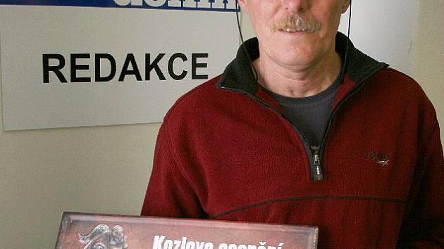 Šikovný brašnář Jiří Čermák vyhrál pivo na rok zdarma.