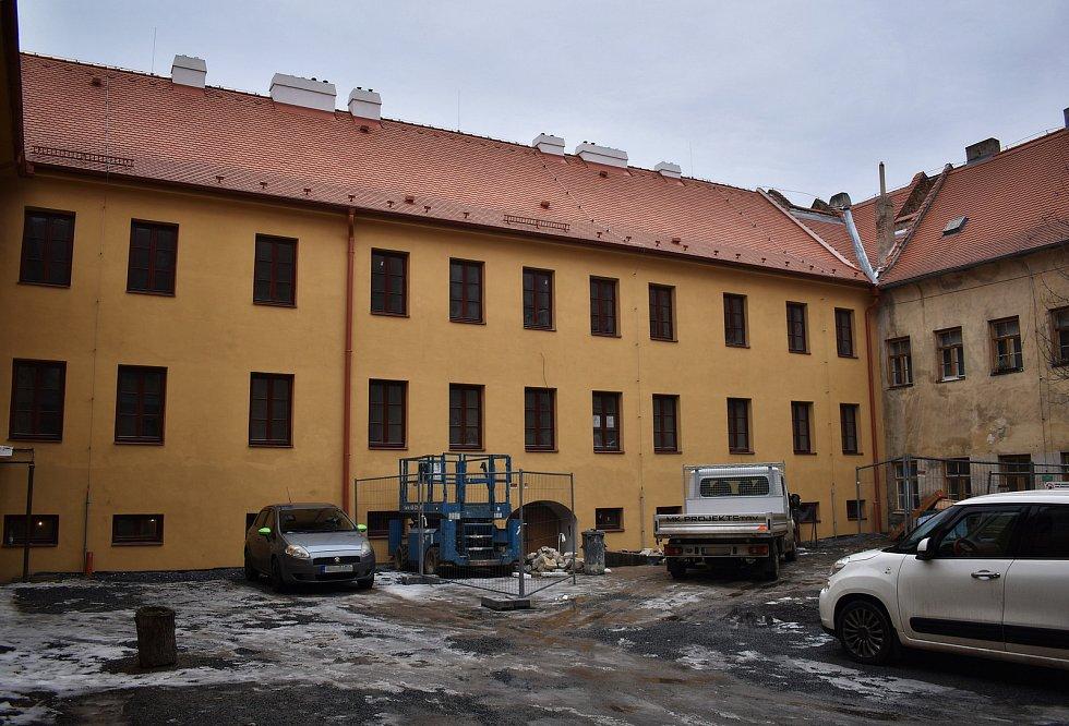 Vznikne zde osm nových bytů, dispozičně řešených jako 2+KK.
