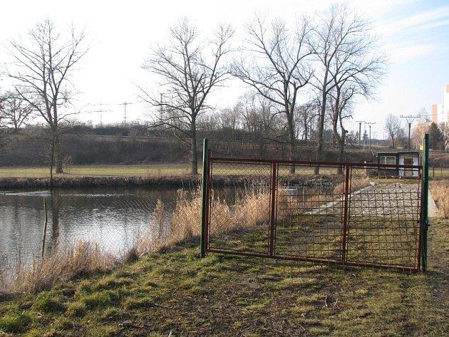 Nejsnazší cestu mimo městský ruch přehradil obyvatelům Boroviny majitel rybníka Michal Fiala. Podle něj ale pouze chrání svůj majetek. V minulosti se několikrát dočkal vytlučených oken u stavebních buněk. Útoky teď navíc registruje i na plotu.