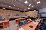 Jaderná elektrárna nechá návštěvníky nahlédnout na blokovou dozornu.