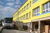 Základní škola v Budišově se opravuje. Jde o největší rekonstrukci za posledních 65 let.