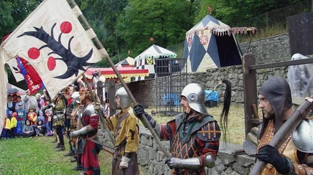 Středověké slavnosti začínají již zítra.