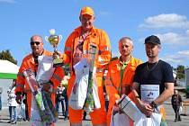 Cestářské rodeo zná svého vítěze, nejlepším cestářem je pětačtyřicetiletý František Strohmer z Třebíče.