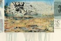 Obraz s věnováním Edouardu Jaguerovi vydražený v přepočtu za čtvrt milionu korun.