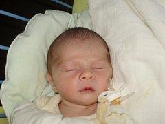 Prvním třebíčským miminkem roku 2010 je Tomáš Pospíšil.