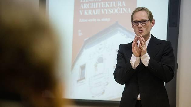 Představení nové knihy Ivana Mináře Lidová architektura v Kraji Vysočina.