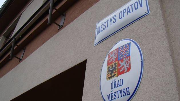 Úřad městyse v Opatově.