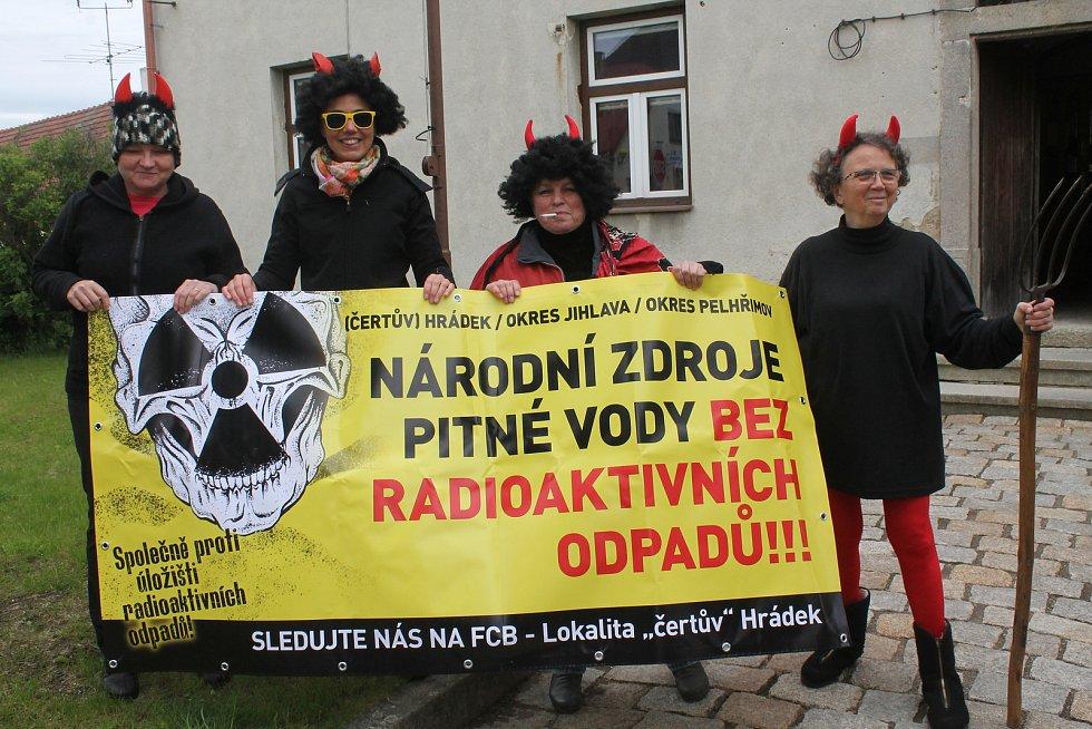 Protesty v Dolní Cerekvi