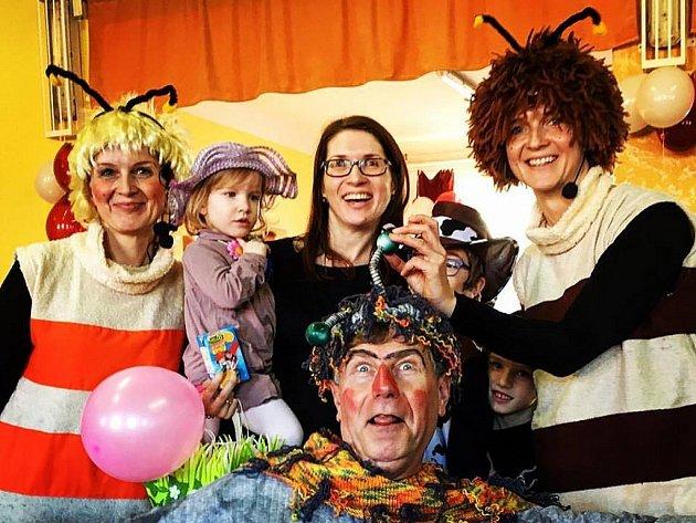 Tradiční dětský karneval v Rokytnici nad Rokytnou.