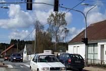 Inteligentní semafor v Pocoucově.