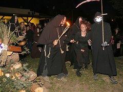 Pálení čarodějnic v Šebkovicích.