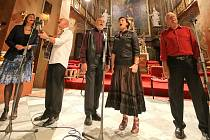 Koncerty v chrámu svaté Markéty v Jaroměřicích nad Rokytnou na Třebíčsku jsou vždy působivé. Nejinak tomu bylo v úterý, kdy v kostele vystupoval Spirituál kvintet.