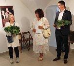 Předávání dětské mírové ceny Anděl pro lepší svět Antonínu Kalinovi.