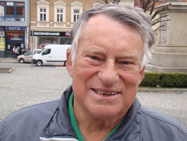Dlouholetý předseda třebíčských zahrádkářů Blažej Bobek.