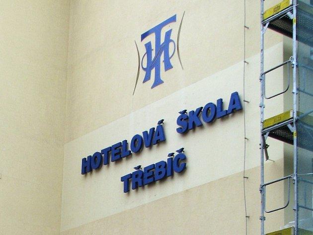 Hotelová škola Třebíč.