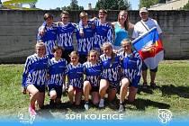 Mladí hasiči z Kojetic se zúčastnili Mistrovství České republiky ve hře Plamen.