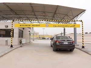 Firma dodala portálové brány pro měření radiace do Saúdské Arábie