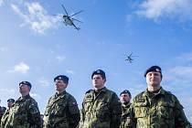 22. základna vrtulníkového letectva Sedlec u Náměště nad Oslavou.