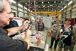 Výrobní haly americké firmy Milacron v Šašovicích u Želetavy si bude moci prohlédnout i veřejnost.