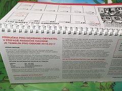 Nový kalendář s příručkou pro mimořádné události.