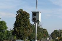 Jeden ze tří radarů, umístěných v Moravských Budějovicích.