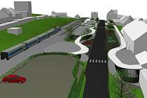 S návrhy pro diskuzi přišla třebíčská firma DISprojekt.  Vlakové i autobusové nádraží by fungovalo ve stávajících prostorech. Nezbytná bude však jejich radikální přestavba a řešení parkovacích ploch a přilehlých obslužných ploch.