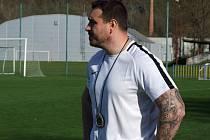Náměšťský trenér Petr Kylíšek.